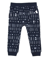 Miles Baby Boys Printed Jersey Pants