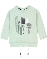 Miles Baby Boys Sweatshirt with Brushes Print