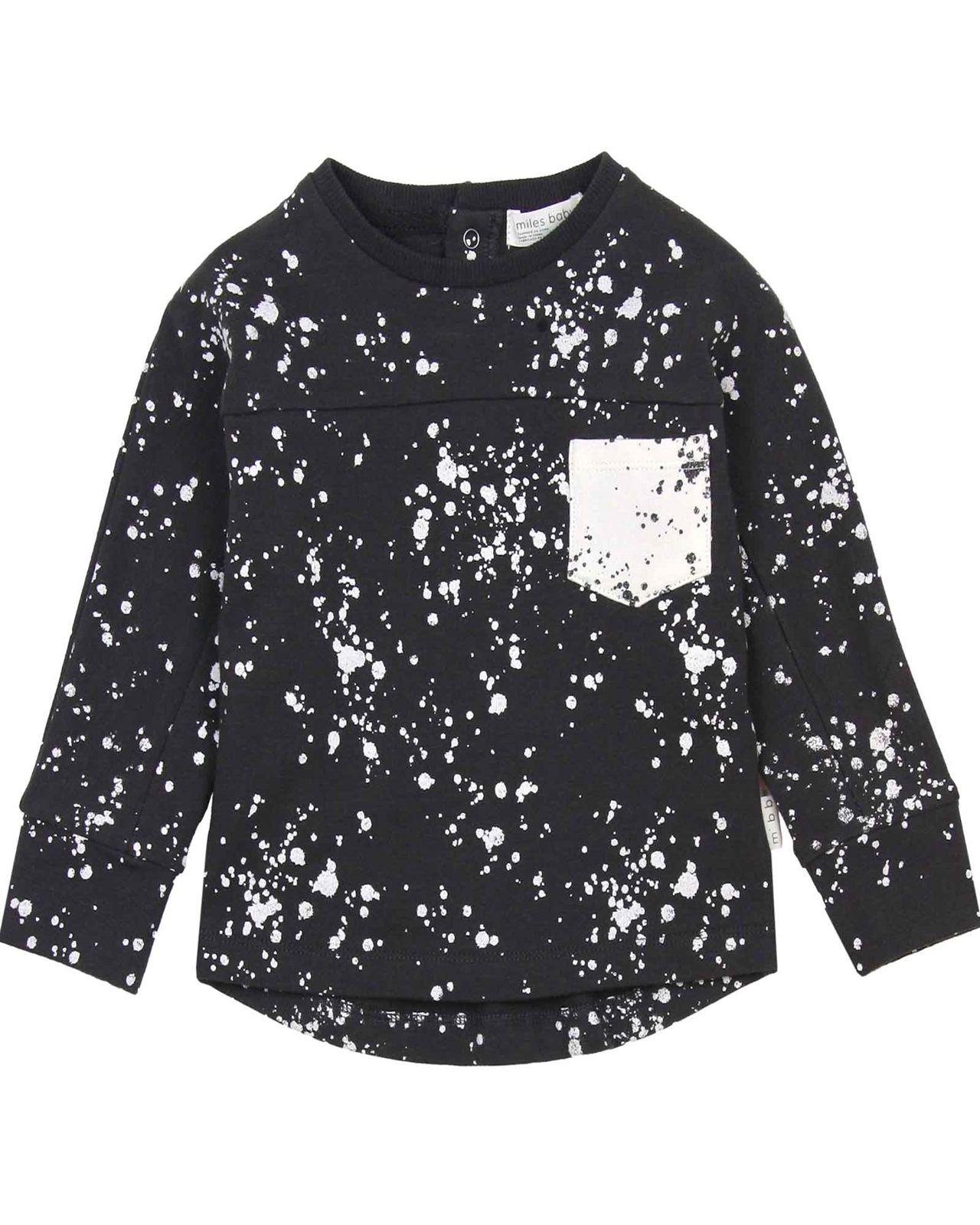 278598e14bd8 Miles Baby Boys Terry Top in Splash Print - Miles Baby Fall Winter ...