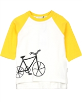 Miles Baby Boys Three-quarter Sleeve T-shirt