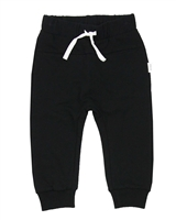 Miles Baby Boys Basic Sweatpants in Black