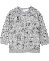 Miles Baby Boys Sweatshirt in Blocks Print