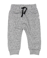 Miles Baby Boys Sweatpants in Blocks Print