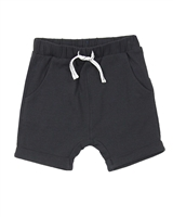 Miles Baby Boys Cuffed Jersey Shorts