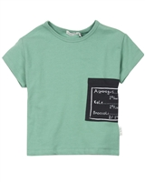 Miles Baby Boys Terry T-shirt with Pocket