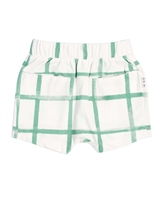 Miles Baby Boys Distressed Check Shorts