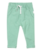 Miles Baby Boys Basic Sweatpants in Green