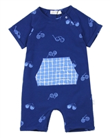 Miles Baby Boys Sunglasses Print One-piece Playsuit