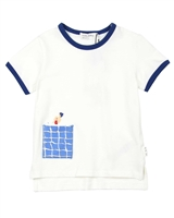 Miles Baby Boys T-shirt with Swimmer