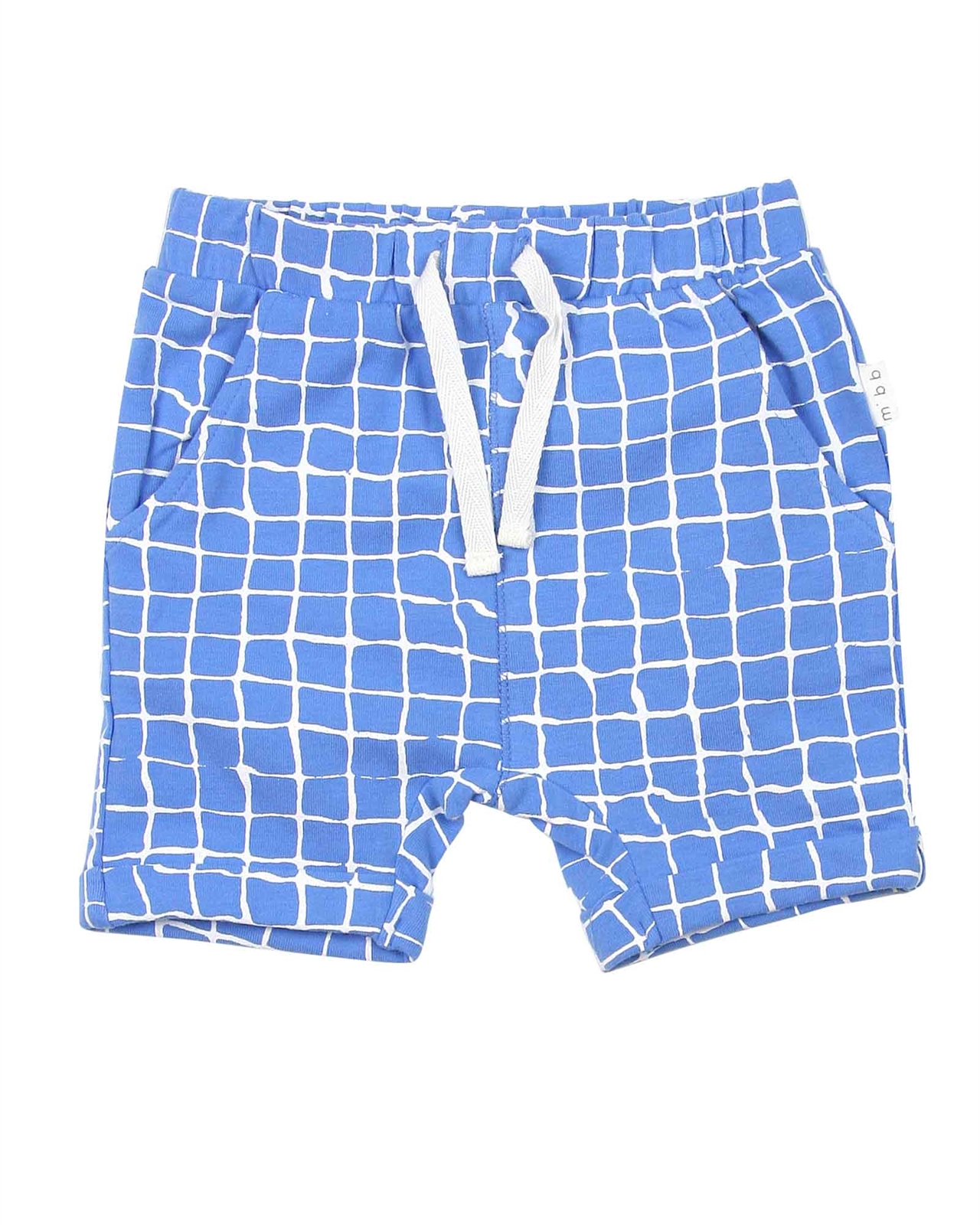 Miles Baby Boys Distressed Check Shorts Sizes 6M-4