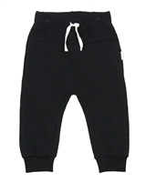 Miles Baby Boys Basic Black Jogging Pants