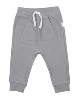 Miles Baby Boys Reversed Terry  Jogging Pants