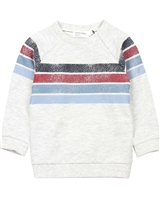 Miles Baby Boys Sweatshirt with Stripes