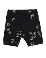Miles Baby Boys Terry Shorts in Balls Print