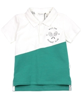 Miles Baby Boys Two Colour-way Polo Shirt