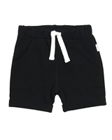 Miles Baby Boys Black Terry Shorts