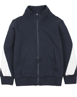 Miles Baby Boys Zip Front Terry Cardigan