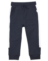 Miles Baby Boys Sweatpants with Side Inserts