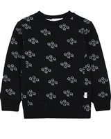 Miles Baby Boys Sweatshirt in Games Print