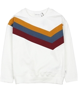 Miles Baby Boys T-shirt with Multicolour Stripes