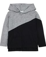 Miles Baby Boys Striped Hooded T-shirt