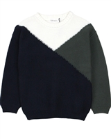 Miles Baby Boys Colour-block Sweater