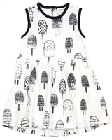 Miles Baby Girls Ice-cream Print Dress