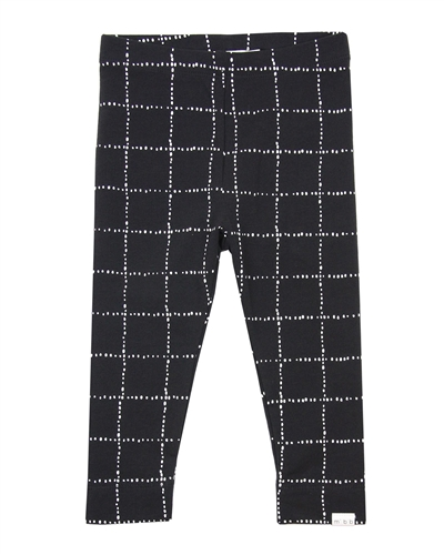 Sizes 6M-4 MILES BABY Girls Distressed Check Leggings