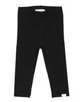 Miles Baby Girls Basic Leggings in Black
