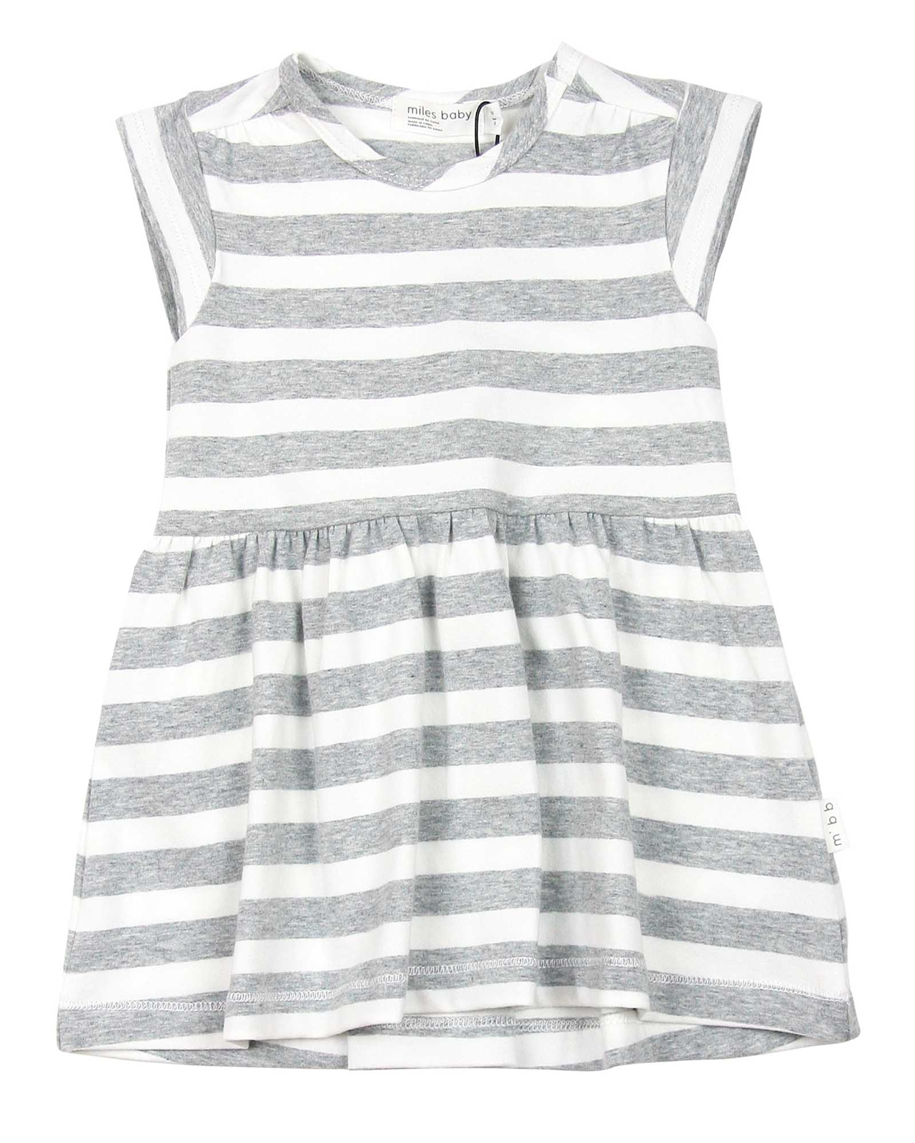 098b2460e Miles Baby Girls Striped Dress - Miles Baby Spring Summer 2019 ...