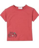 Miles Baby Girls Terry T-shirt