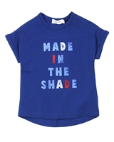 Miles Baby Girls Top with Cuffed Sleeves