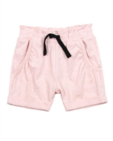 Miles Baby Girls Slub Jersey Shorts