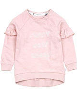 Miles Baby Girls Top with Shoulder Ruffles