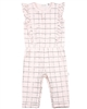 Miles Baby Girls Check Jumpsuit