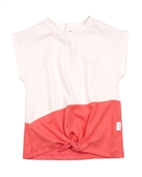 Miles Baby Girls Top with Knot