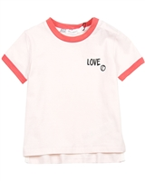 Miles Baby Girls Short Sleeve Top