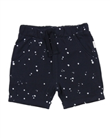 Miles Baby Girls Jersey Shorts in Spot Print