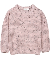 Miles Baby Girls Chunky Knit Sweater