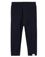 Miles Baby Girls Basic Leggings in Navy