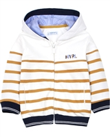 Mayoral Baby Boy's Striped Hooded Cardigan