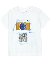 Mayoral Baby Boy's T-shirt with Camera Print