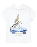 Mayoral Baby Boy's T-shirt with Friendship Print