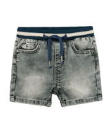 Mayoral Baby Boy's  Jogg Jeans Shorts in Grey