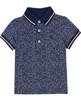 Mayoral Baby Boy's Polo in Small Floral Print