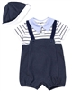 Mayoral Infant Boy's Knit Overall with Cap