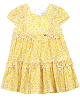 Mayoral Baby Girl's Tiered Printed Dress