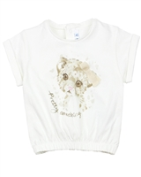 Mayoral Baby Girl's Top with Kitten Print