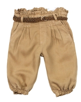 Mayoral Baby Girl's Flowy Pants with Belt
