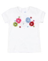 Mayoral Baby Girl's Rib Knit T-shirt with Applique